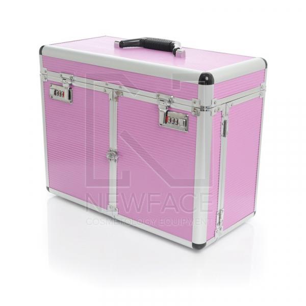Kufer Kosmetyczny S - Duży Pink #1