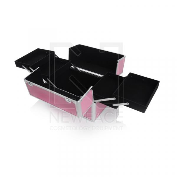Kufer Kosmetyczny S - Standardowy Pink #2