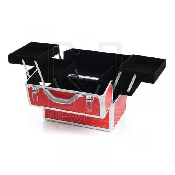 Kufer Kosmetyczny S - Standardowy Red #2