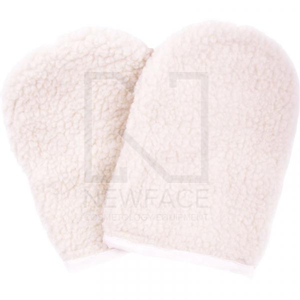 Wełniane rękawiczki do parafinoterapii YM-8032 #1