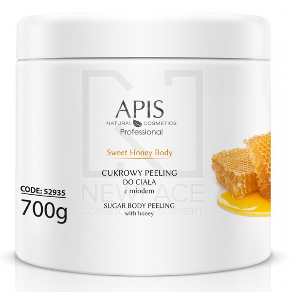 Apis Sweet Honey Body Cukrowy Peeling Z Miodem, 700g #1