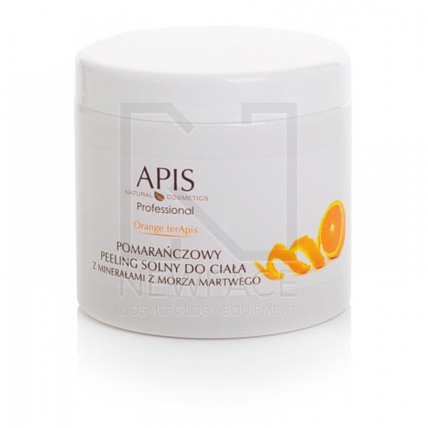 Apis Orange Pomarańczowy Peeling Solny Do Ciała, 700g #1