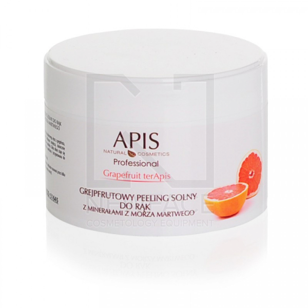 Apis Grapefruit Grejpfrutowy Peeling Solny Do Rąk, 300g #1