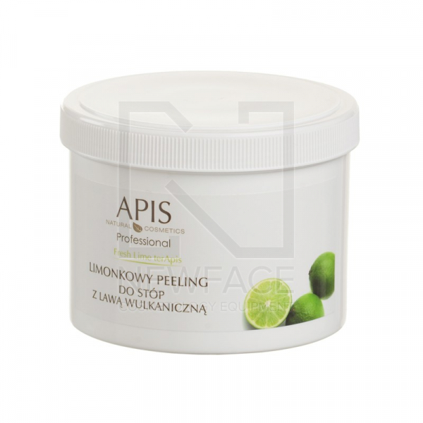 Apis Fresh Lime Limonkowy Peeling Do Stóp, 500ml #1