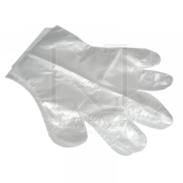 Jednorazowe Rękawice Foliowe 100 Szt. #1