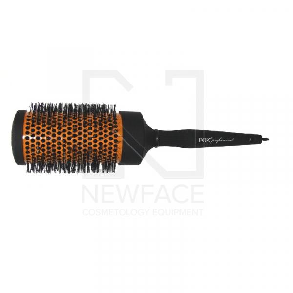 Szczotka Do Włosów Okrągła Pomarańczowa Fox Professional 65 Mm #1
