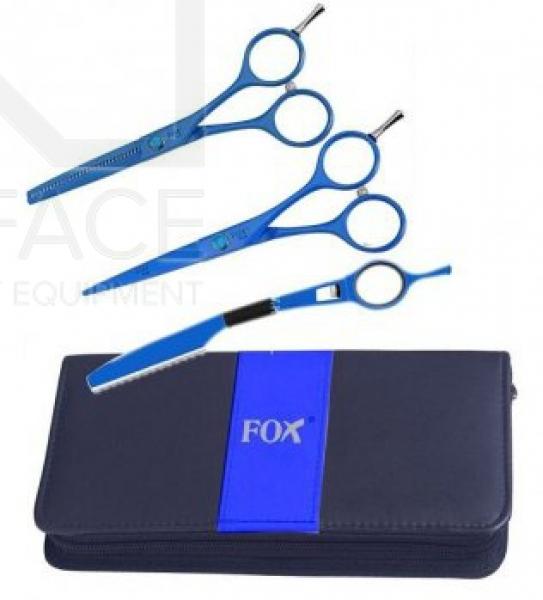 """Komplet Fox Bue (Nożyczki 5,5"""", Degażówki 5,5"""", Nóż Chiński) #1"""