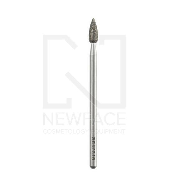Frez diamentowy do skórek i płytki fi 3,0mm łezka #1