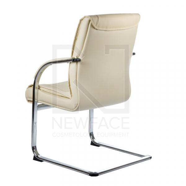Fotel Konferencyjny Corpocomfort BX-3345 Kremowy #3