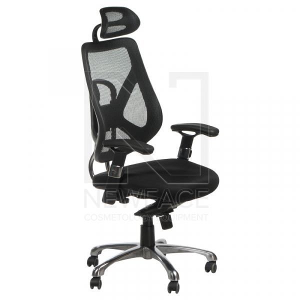 Fotel Ergonomiczny Corpocomfort BX-W4310 Czarny #1