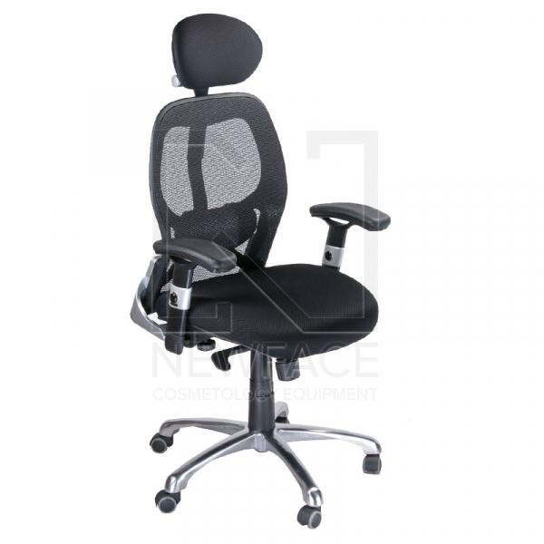 Fotel Ergonomiczny Corpocomfort BX-4028A Czarny #1