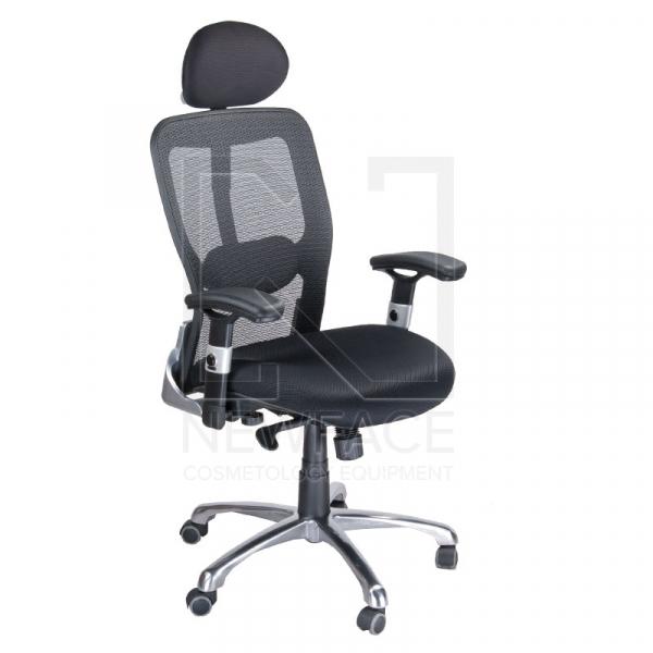 Fotel Ergonomiczny Corpocomfort BX-4029A Czarny #1