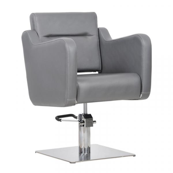 Fotel Fryzjerski Lux Grafitowy #1
