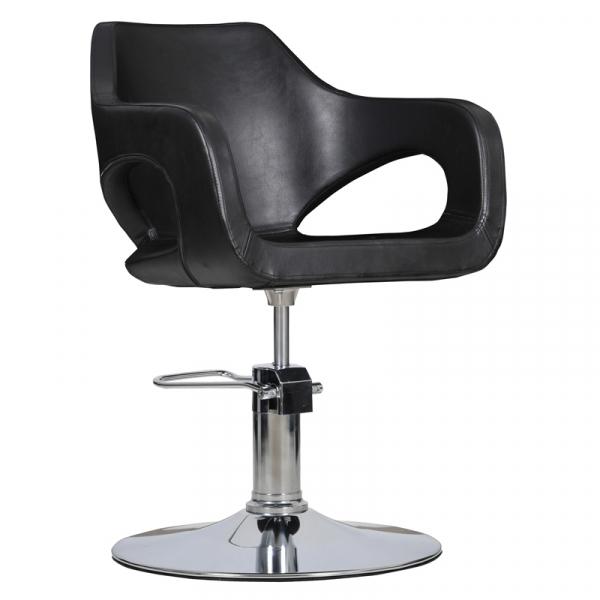 Fotel Fryzjerski Bresso Czarny #1