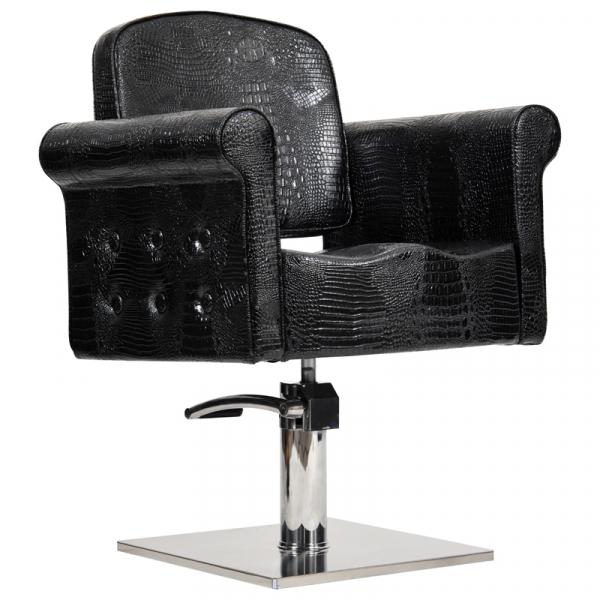 Fotel Miami-Czarny Krokodyl #1