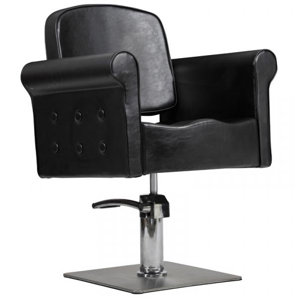 Fotel Miami -Czarny #1