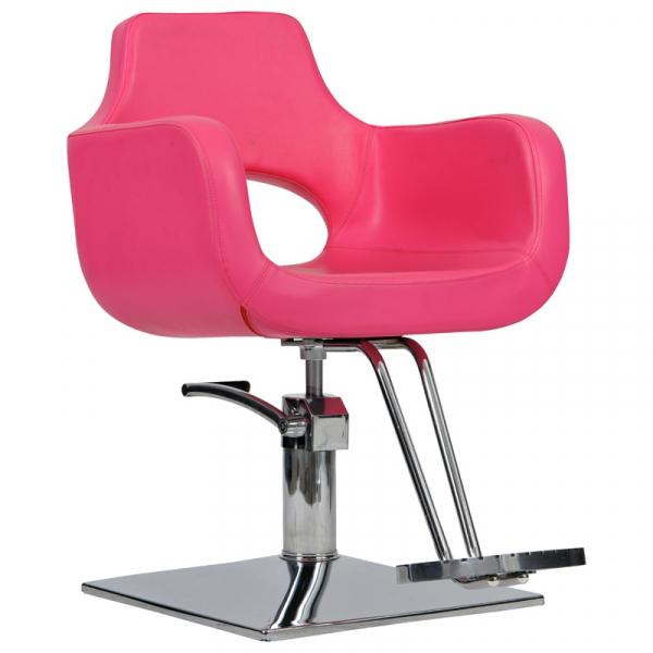 Fotel Fryzjerski Mediolan Róż #1