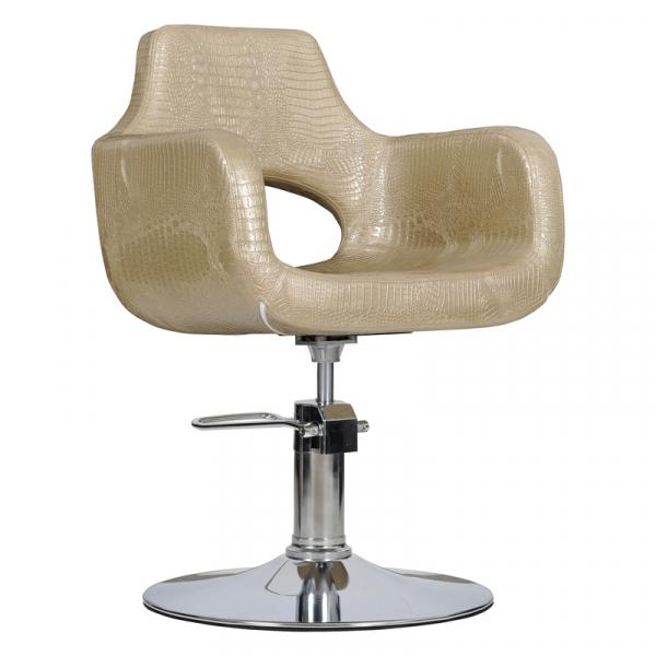 Fotel Fryzjerski Mediolan Złoty Krokodyl #1