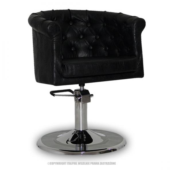 Fotel Fryzjerski Rimini Czarny #1