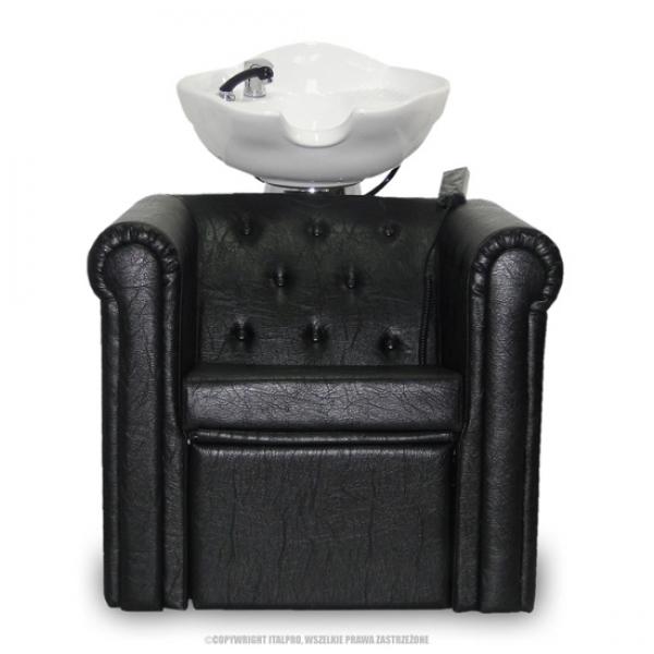 Myjnia Fryzjerska Rimini Czarna #1