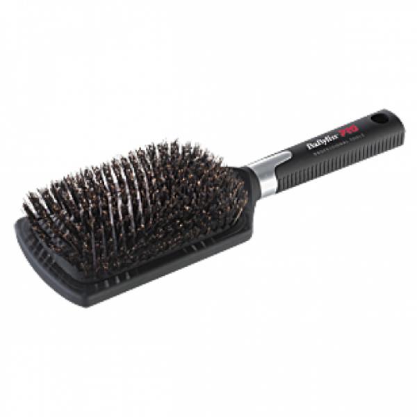 BaByliss Pro BABBB1E Szczotka płaska pneumatyczna z naturalnym włosiem dzika #1