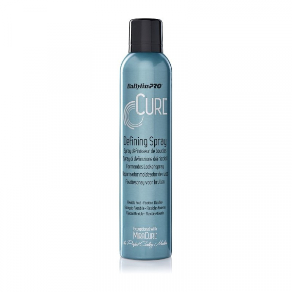 BaByliss Pro CURL Defining Spray do modelowania loków 281ml #1