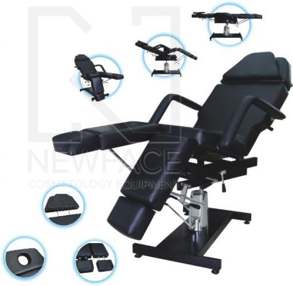 Fotel kosmetyczny KLEMENS - hydrauliczny #1