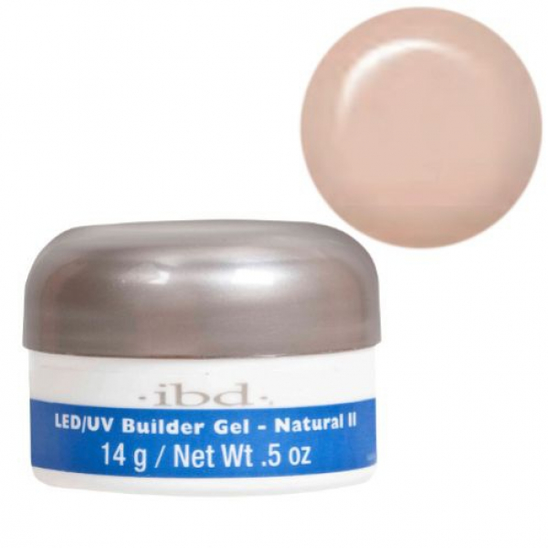IBD LED/UV BUILDER GEL, 14G NATURAL II #1