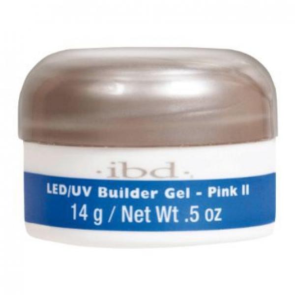 IBD LED/UV BUILDER GEL, 14G PINK II #1