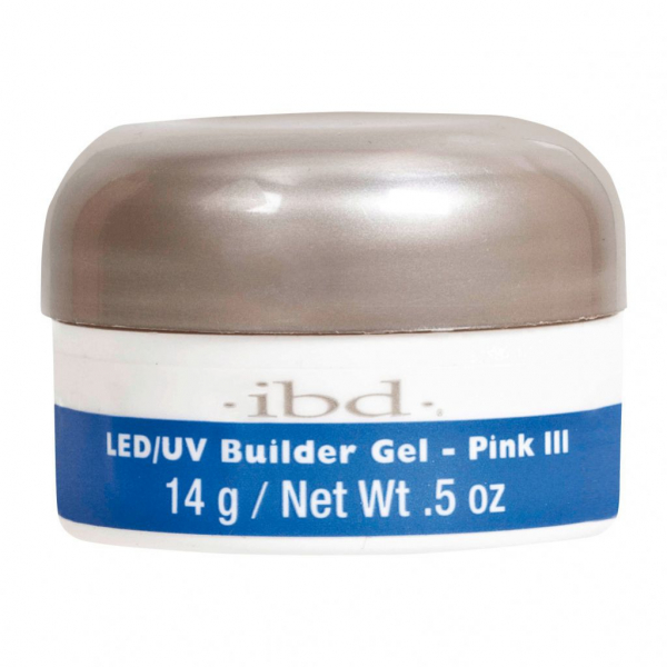 IBD LED/UV BUILDER GEL, 14G PINK III #1