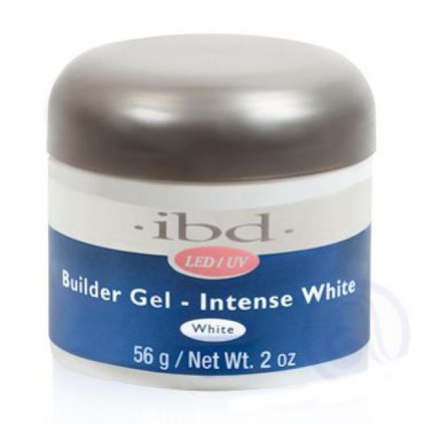 IBD LED/UV BUILDER GEL, 56G INTENSE WHITE #1