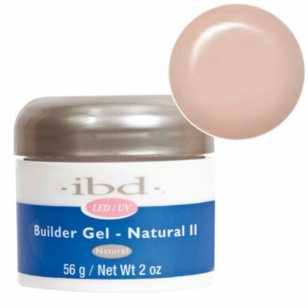 IBD LED/UV BUILDER GEL, 56G NATURAL II #1
