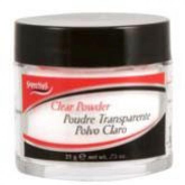 Puder akrylowy SuperNail Clear Powder - przezroczysty, 21gr #1