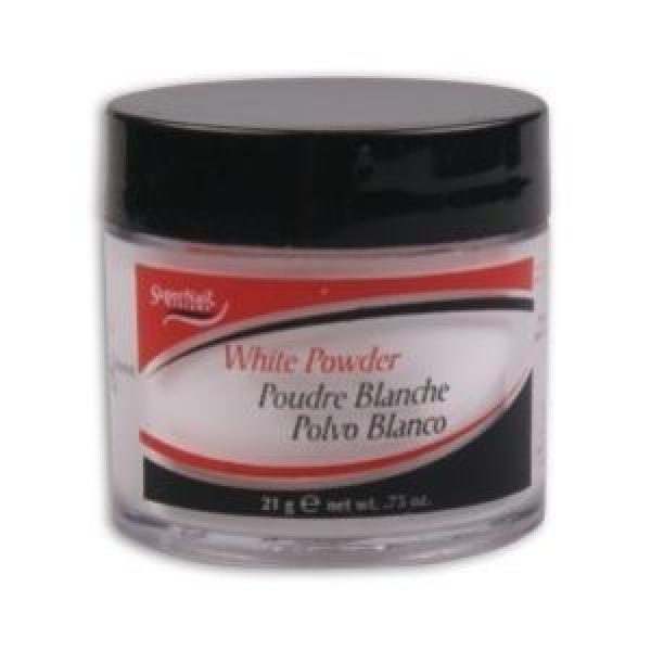 Puder akrylowy SuperNail White Powder - biały, 21g #1