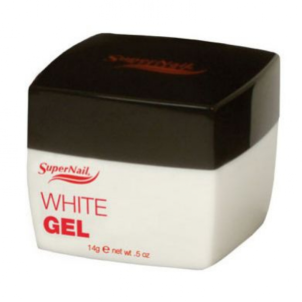 Supernail Żel White Gel, 14 g #1