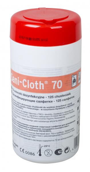 Sani-Cloth 70, 125 szt. #1
