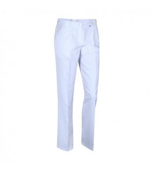 Spodnie Medyczne Białe, Rozmiar 46 #1