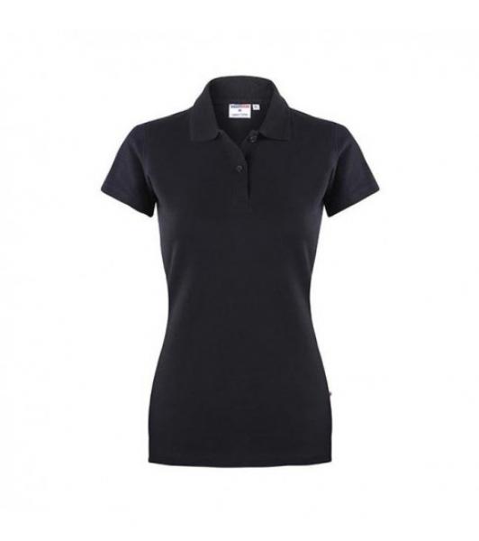Koszulka Polo Damska Czarna, Rozmiar XS #1