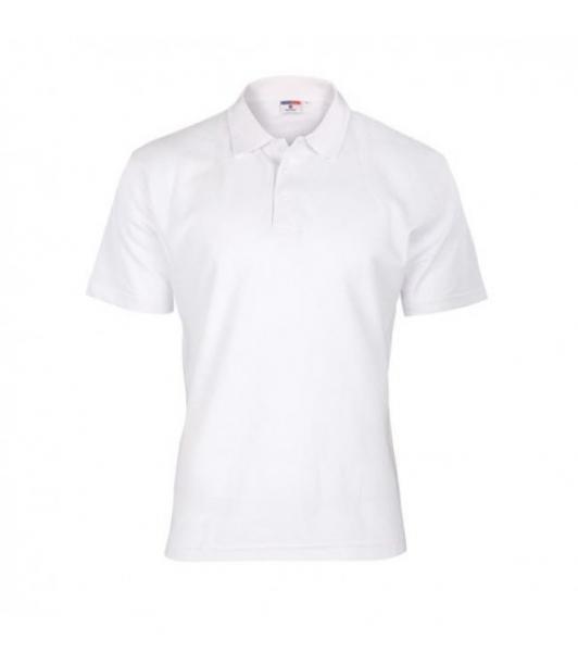 Koszulka Polo Męska Biała, Rozmiar L #1