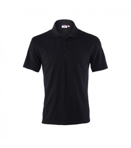 Koszulka Polo Męska Czarna, Rozmiar S #1
