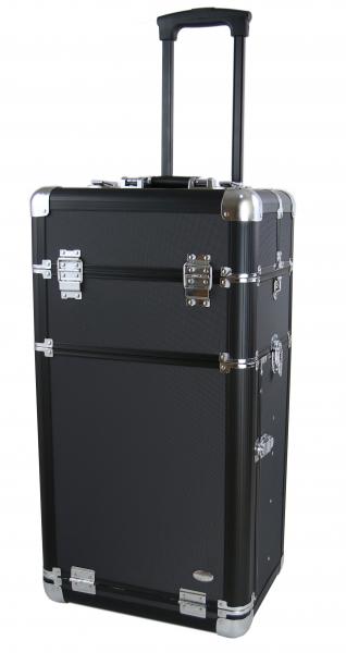 Kufer Kosmetyczny Na Rolkach ND4 Black #1
