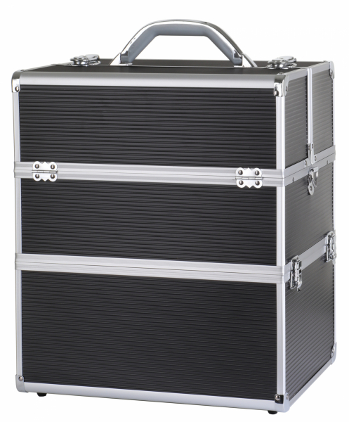 Kufer Kosmetyczny NS06A+ Black Strip - Paski #1