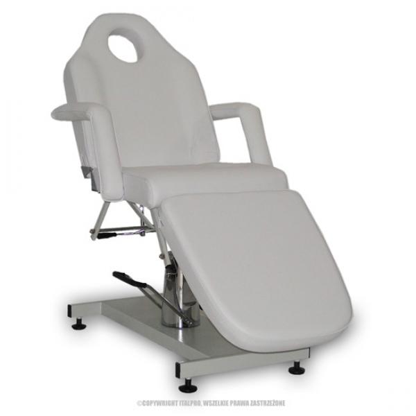Fotel Kosmetyczny Standard Bis Biały #1