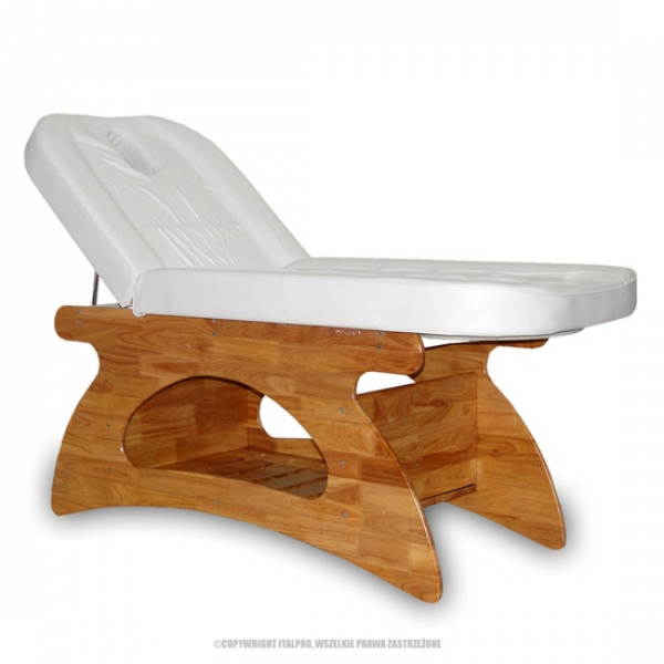 Fotel Kosmetyczny - Spa Biały #1