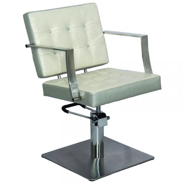 Gabbiano Fotel Fryzjerski Marbella Beżowo- Szary #1