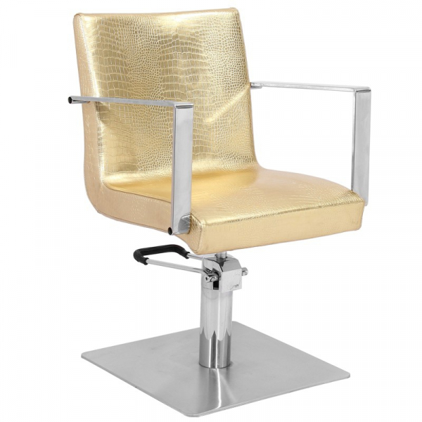 Gabbiano Fotel Fryzjerski Roma Złoty #1