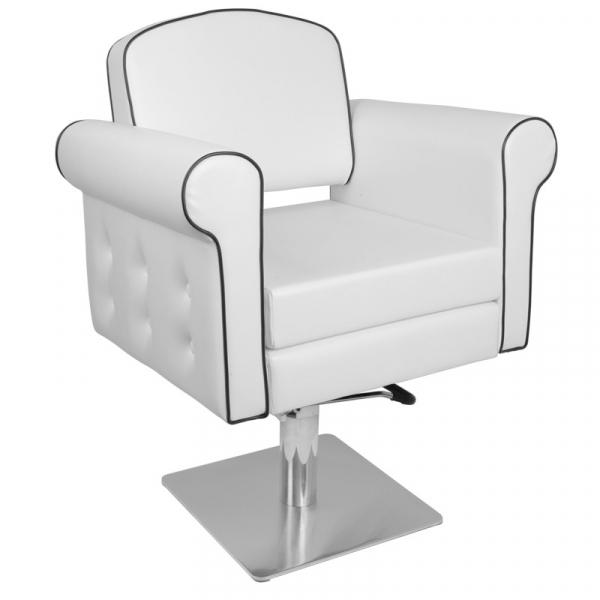 Gabbiano Fotel Fryzjerski Ateny Biały #1