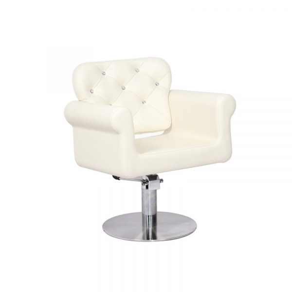 Gabbiano Fotel Fryzjerski Wiedeń Beżowy #1