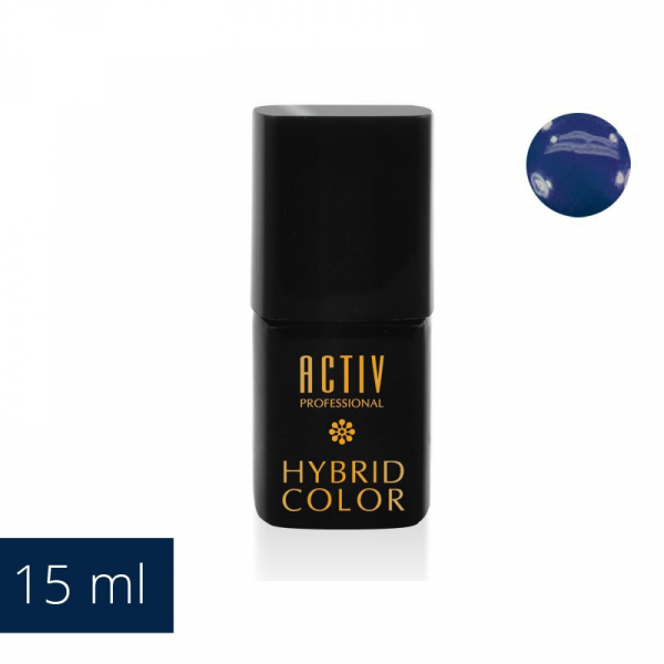 Lakier Hybryd UV LED 15 Navy Blue Granatowy 15ml #1