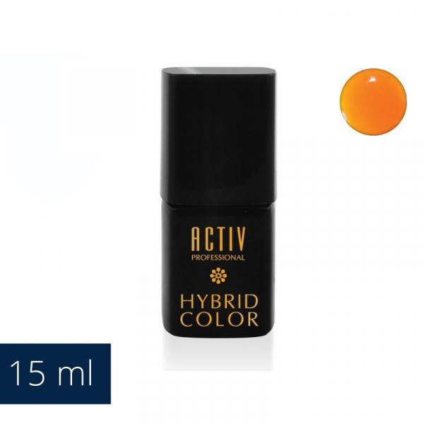 Lakier Hybryd UV LED 20 Hula Hoop Orange Neonowy Pomarańcz 15ml #1
